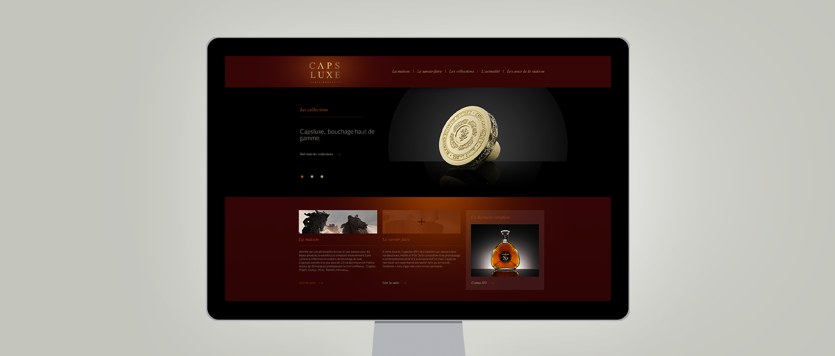 CAPSLUXE HOME PAGE